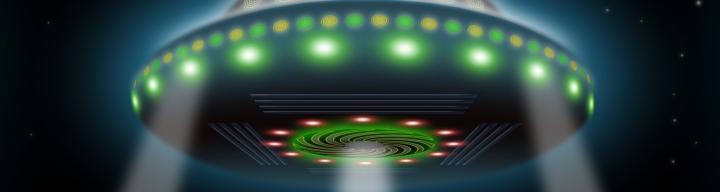 UFO = Uiting van menselijke creativiteit