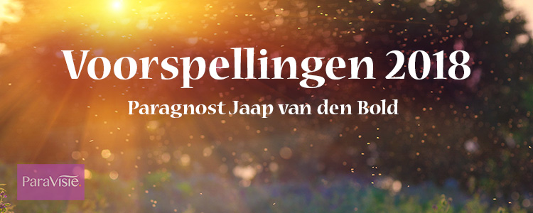 Voorspellingen 2018 Jaap van den Bold