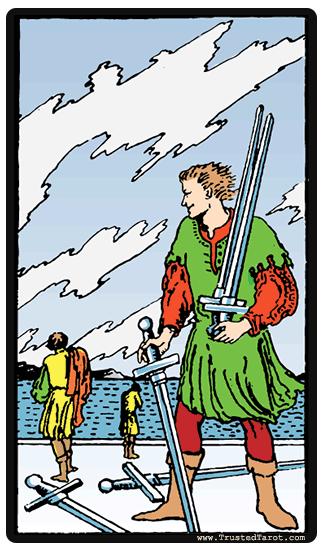 Card 3 - De vijf zwaarden