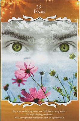 Spirituele kaart - focus