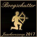 Boogschutter jaarhoroscoop 2017