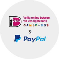 betaal met paypal of iDEAL