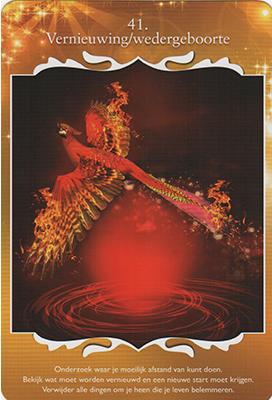 Spirituele kaart - wedergeboorte