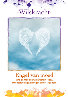 Engelenkaart - Wilskracht