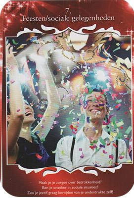Card 1 - Feesten/ Sociale Gelegenheden