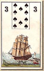 lenormand kaart het schip